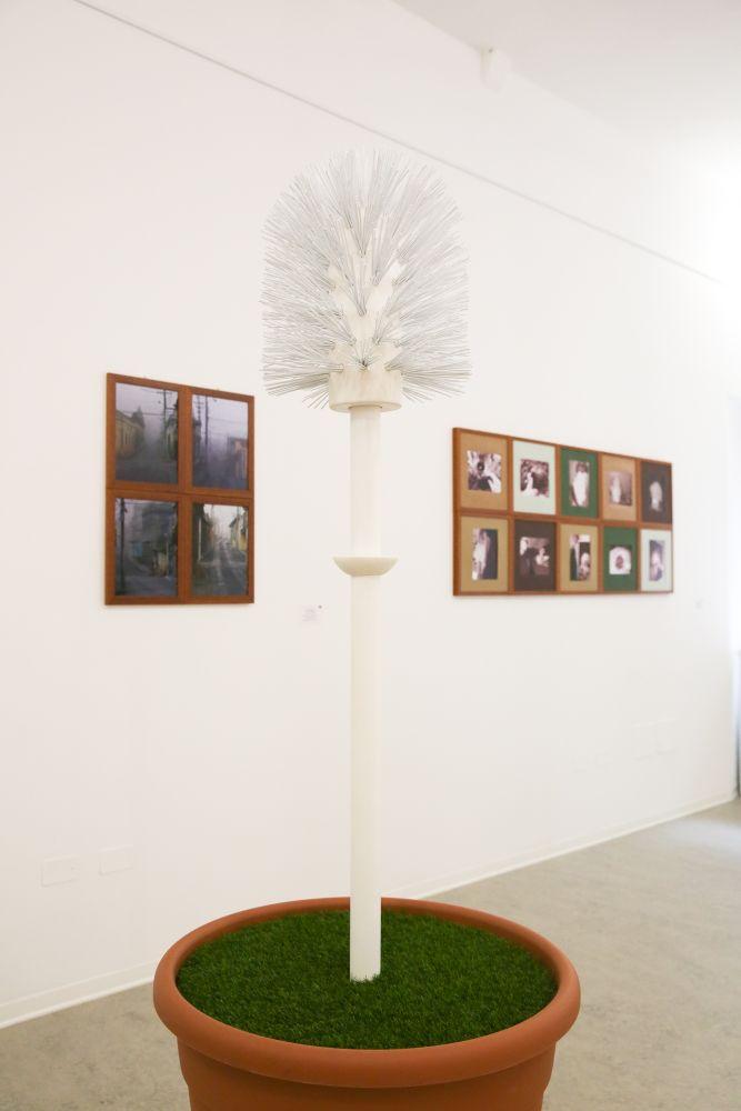 Al centro El Circulo Magico (Sabrina Bertolelli),Contemporary-Flower...!, tecnica mista, 180x86 cm.2017