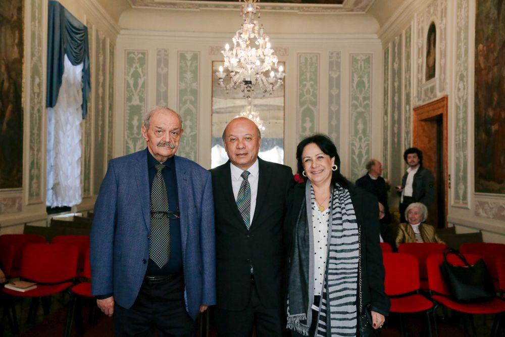 Aldo Basili, Jose Luis Chea Urruela, Patricia Guillermo De Chea