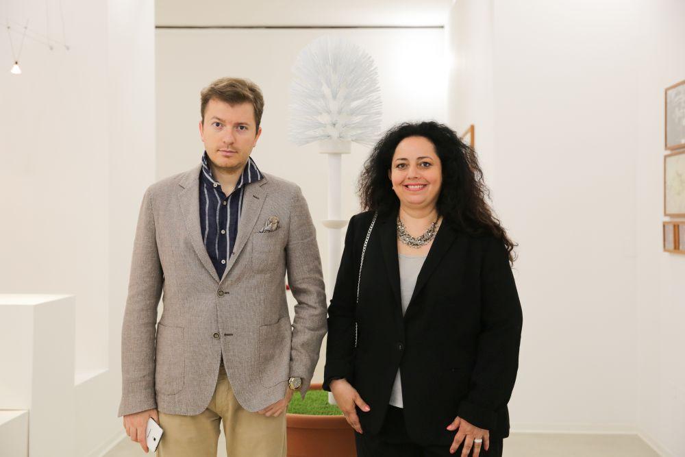 Daniele Radini Tedeschi, Sabrina Bertolelli