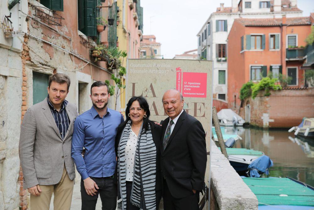 Daniele Radini Tedeschi, Simone Pieralice, Patricia Guillermo De Chea, Jose Luis Chea Urruela