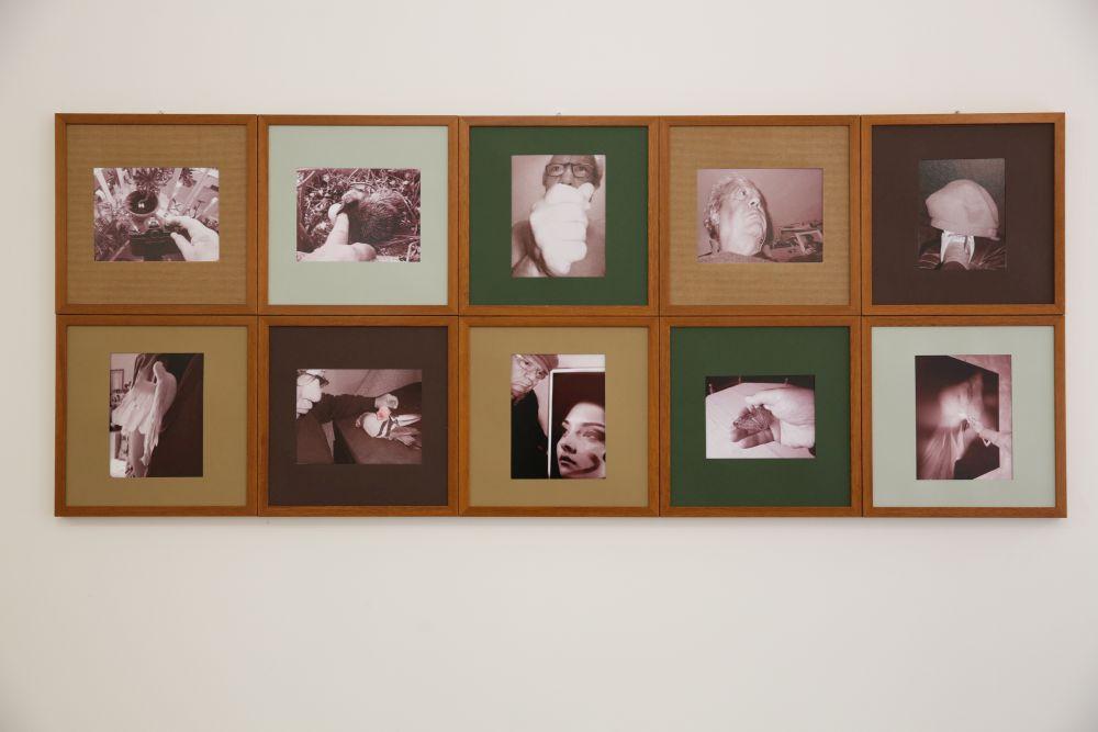 El Circulo Magico, Carlo Marraffa, composizione fotografica di dieci scatti, 20x17 cm.2017