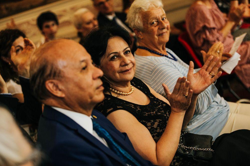 Il Ministro della Cultura del Guatemala con sua moglie