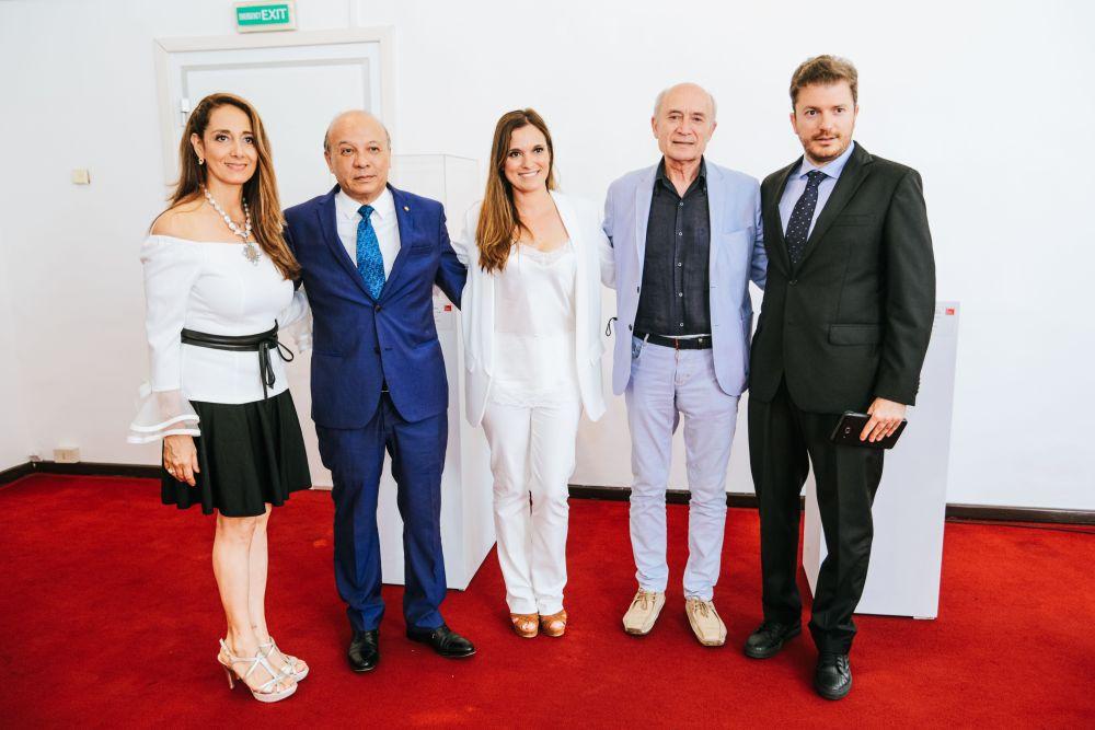 Pier Domenico Magri visita la mostra